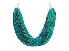 One Wink Turquoise Multi Strand Necklace | DSW $20!