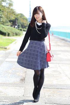 Korean Street Fashion, Korea Fashion, India Fashion, Japan Fashion, Fashion Tights, Fashion Outfits, Womens Fashion, High Fashion Trends, Young Girl Fashion