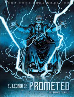 El Legado de Prometeo 2. Los enfants terribles, de Varios Autores.