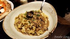 Antica Pizzeria @ Morphett Street | Foodie Ling    Fettucine with truffles. Subtle flavours yet so simple and delicious