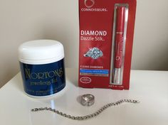 Jewellery dip and diamond cleaner stick