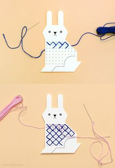 DIY Animal Cross Stitch for Kids - Mr Printables section of information related to. Cross Stitch For Kids, Cross Stitch Cards, Cross Stitching, Cross Stitch Embroidery, Cross Stitch Patterns, Projects For Kids, Diy For Kids, Sewing Projects, Crafts For Kids