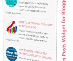 Random Posts Widget for Blogger Blog