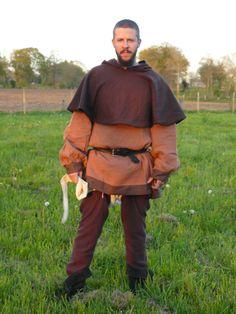 Man's medieval garb