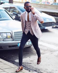 20 Fashionable Outfits Ideas for Men is part of Mens fashion inspiration - As a man do feel confused or intimidated whenever you are stepping out because you do not know how to dress well or get the right outfit for your out… Mens Fashion Blazer, Mens Fashion Blog, Suit Fashion, Men's Fashion Tips, Fashion Boots, Men Blazer, Fashion Sites, Fashion Outlet, Cheap Fashion