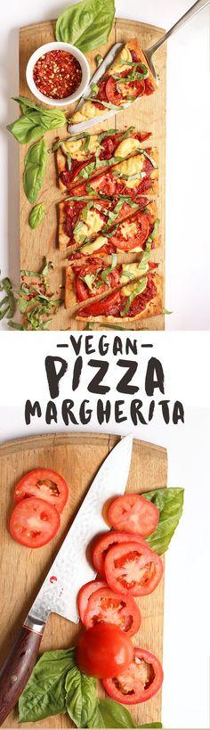 This vegan Pizza Mar