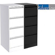 Silverline M:Line Filing Cabinets - Introducing Silverline M:Line Fling Cabinets. Ultra durable high quality filing solution with undefeatable anti tilt, Free UK mainland delivery on Silverline M:Line Filing Cabinets. Filing Cabinets, Locker Storage, Metal, Furniture, Home Decor, Decoration Home, Room Decor, Metals, Home Furnishings