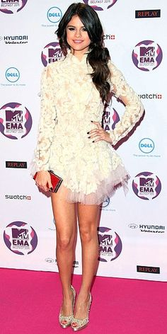 Selena Gomez, I love her dress in this picture!