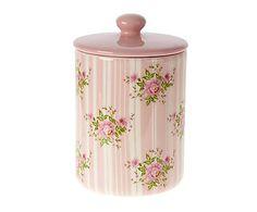 Tarro de cerámica Rosa