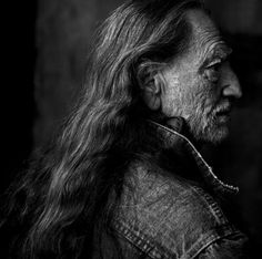 Willie Nelson, Texas, 2001  by Annie Leibovitz