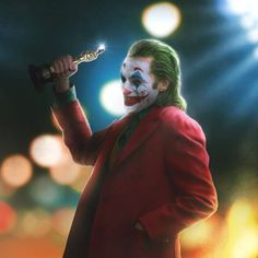 'The Oscars goes to JOKER!' 🏆 Edited in Photoshop and further details painted in Procreate 😎 Gotham City, Gotham Joker, Joker Film, Joker Heath, Joker And Harley, Joker Joker, Joaquin Phoenix, Joker Photos, Joker Images