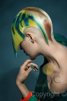 mesterfokon / on master degree: Hair Color And Cut, Cut My Hair, Hair Cuts, Work Hairstyles, Creative Hairstyles, Short Hair Lengths, Short Hair Styles, Hair Academy, Avant Garde Hair