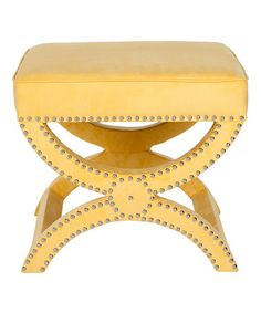 Another great find on #zulily! Yellow Wren Ottoman #zulilyfinds