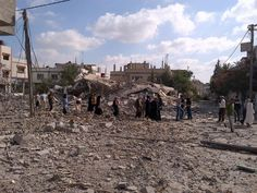 Twitter - Gaza refugees stream back into Beit Hanoun only to find their homes destroyed