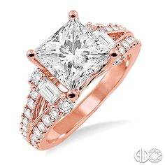 Frivolous I know, but I love it Rose Gold Diamond Ring