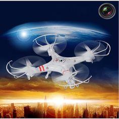 Dagaanbieding: Heliway Drone Quadcopter met Camera & incl. Accessoires!