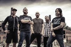 """NEWS: The metal band, Killswitch Engage, have announced a spring North American tour, called the """"Incarnate Tour,"""" for March and April. Memphis May Fire and 36 Crazyfists will be on the tour, as support. Details at http://digtb.us/1lMM1MH"""