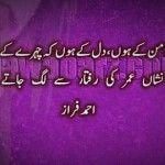 Kuch nishaan umar ki raftaar se Urdu Shayari
