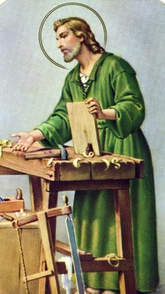 ST. JOSEPH THE WORKER - 01MAY PATRON: Against doubt; against hesitation; bursars; cabinetmakers;  carpenters;; confectioners; craftsmen;  dying people; emigrants; engineers; expectant mothers; families; fathers; ; happy death; holy death; house hunters; immigrants; interior souls;laborers; married people;  people in doubt; people who fight Communism;  pioneers; pregnant women; protection of the Church; social justice; travellers; unborn children;wheelwrights; workers; working people.