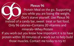 Plexus 96 - new in Fall of 2012.  Enjoy it with water or milk or make your own smoothie. www.powerofplexus.com Ellen Stephens