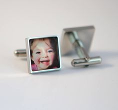 Papa gift, Dad cuff links, Custom photo cuff links Father cuff links Square cuff links, custom logo cuff links, Corporate Gift by KTfeiss on Etsy