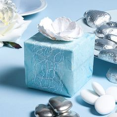 Blue Favour Boxes | Craft Ideas & Inspirational Projects | Hobbycraft