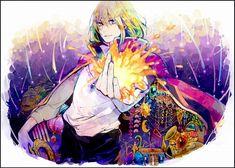 Tags: Anime, Fanart, Howls Moving Castle, Pixiv, Howl