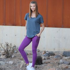 Race Day Pants - Purple High quality leggings for only $40 at www.senitaathletics.com