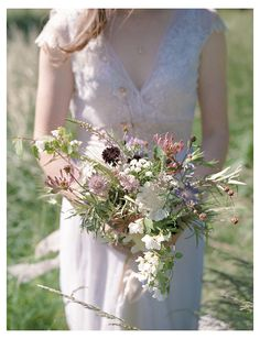 Wild, Scottish summer bouquet by Pyrus, image by taylorandporter.co.uk