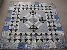 (7) Name: 'Quilting : Lady Rose Downton Abbey Inspired Quilt