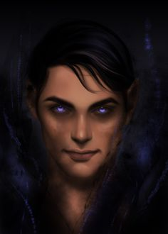 Rhysand from A court of thorns and roses series by Morgana0anagrom