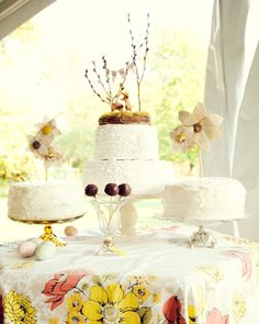 cake buffet / Photographer: Abdi Aminlari of Three Photographers