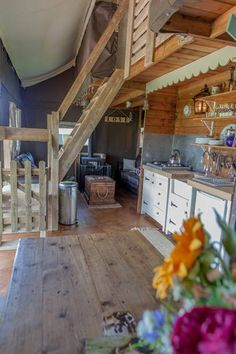 Mill Farm Glamping, Wiltshire. Enjoy the best of the beautiful British countryside in a luxurious canvas lodge http://www.organicholidays.com/at/2797.htm