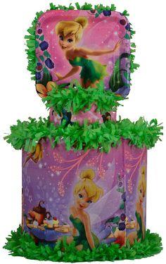 World of Pinatas - Tinkerbell Bell pinata, $27.99 (http://www.worldofpinatas.com/tinkerbell-bell-pinata/)