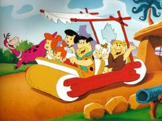 yabba dabba do - The Flinstones - Retro TV - Cartoon Classic Cartoons, Cool Cartoons, Retro Cartoons, Cartoon Wallpaper, Wallpaper Desktop, Mobile Wallpaper, Pebbles Y Bam Bam, Flintstone Characters, The Wrap