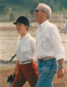 Paul Newman and Clea Newman, 1988.