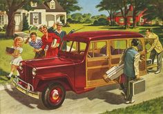 1946 Jeep Willys Station Wagon 463