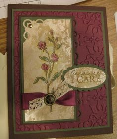 Very Nice Card, like how they used just the decorative corner punch on one corner.
