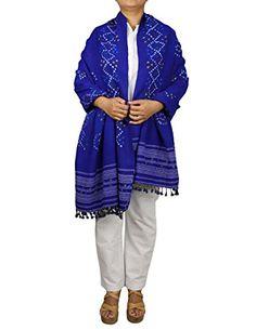 Blue Shawl for Dresses Indian Handmade Tie Dye Wool Accessories Women ShalinIndia http://www.amazon.co.uk/dp/B00LAU41FE/ref=cm_sw_r_pi_dp_Lmfgvb1VF27T2