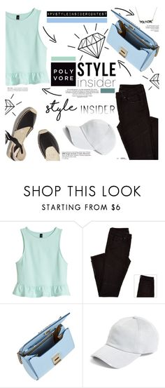 """""""Poly Blues"""" by cynthia6 ❤ liked on Polyvore featuring H&M, Soludos, Givenchy, rag & bone, contestentry, styleinsider and PVStyleInsiderContest"""