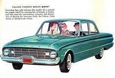 My grandparents' car - a 1960 Ford Falcon Fordor Sedan Ad. (really my car)