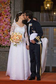 Pin for Later: Les 13 Plus Belles Photos du Mariage Royal Suédois