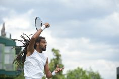 Dustin Brown at #Wimbledon2016 #DustinBrown #tennis The Championships, Wimbledon 2016 - Official Site by IBM
