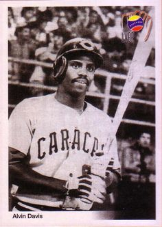 Alvin Davis pelotero de gran actuacion con Los Leones del Caracas en los años 80s
