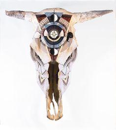 Sebastien Lafleur - skull art Skull Art, Skulls, Sugar Skull Art