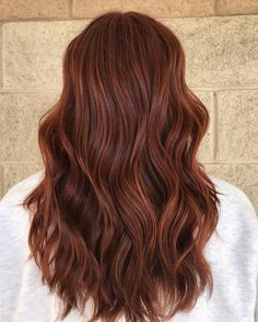 Ginger Brown Hair, Carmel Brown Hair, Dark Red Hair With Brown, Reddish Brown Hair Color, Ginger Hair Color, Brown Ombre Hair, Hair Color Auburn, Hair Dye Colors, Brown Hair Colors