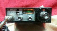BROWNING BROWNIE CB RADIO 23 Channel  1974 Laconia NH Works VINTAGE C.B. Rare #Browning