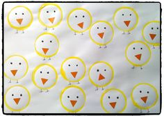 Terrific A large number of chicks Easter Crafts For Kids, Toddler Crafts, Diy For Kids, Upcycled Crafts, Easy Crafts, Diy Bags Purses, Activity Mat, Stamp Carving, Shape Art