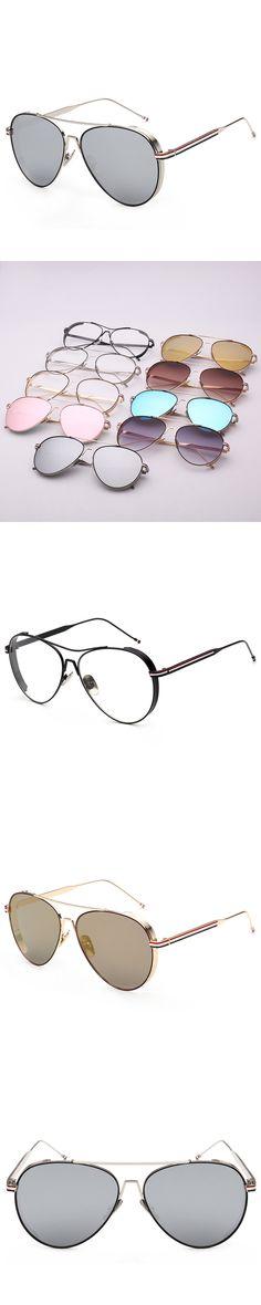 2017 new top Fashion brand designer metal Vintage aviator sunglasses superstar driving Polarized sunglasses uv400 gafas de sol