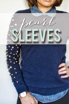 Pearl Sleeve DIY